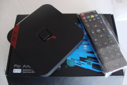 MXQ Amlogic S805 Review