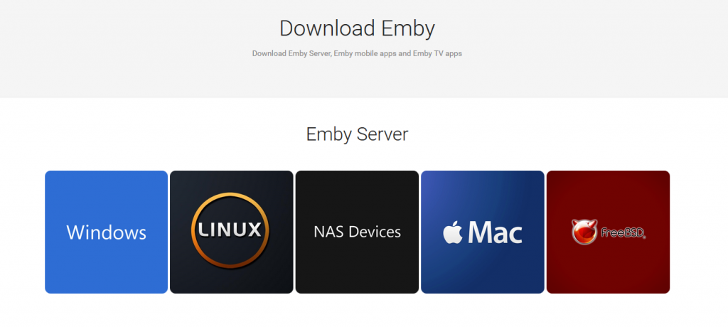 How To Install Emby Server