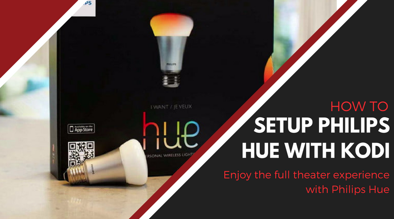 How to setup Philips Hue on Kodi