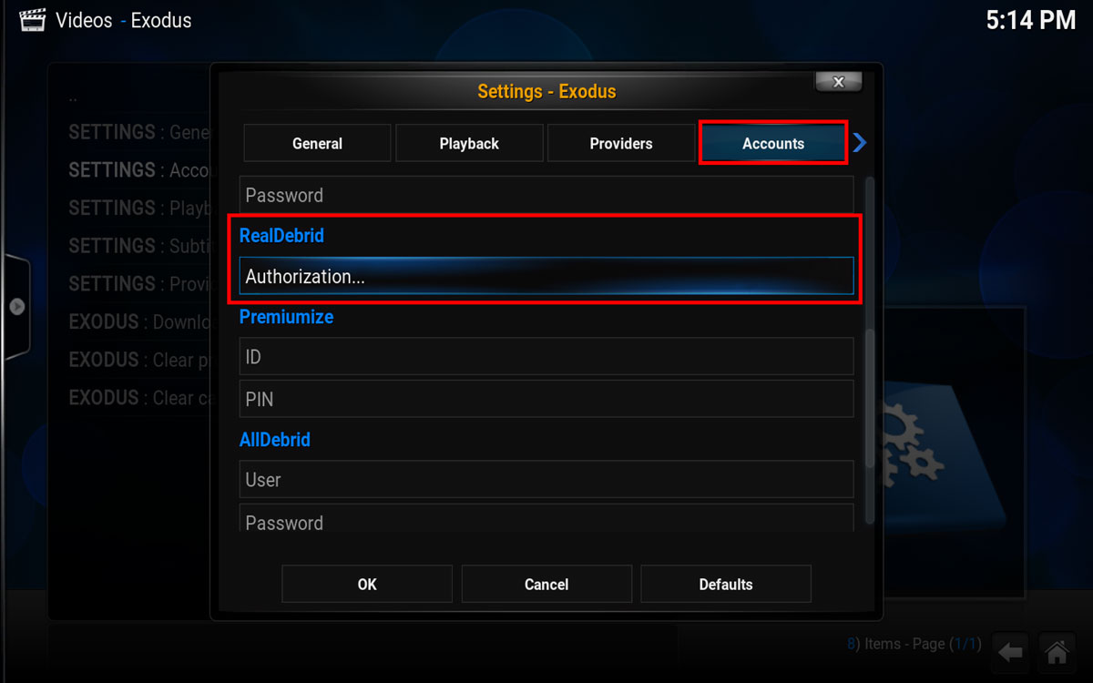 How To Install Exodus with Real Debrid in Kodi - HotstickyBun