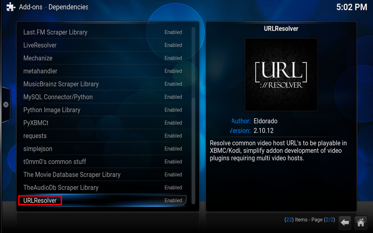 Using Real Debrid in Kodi, Step 5