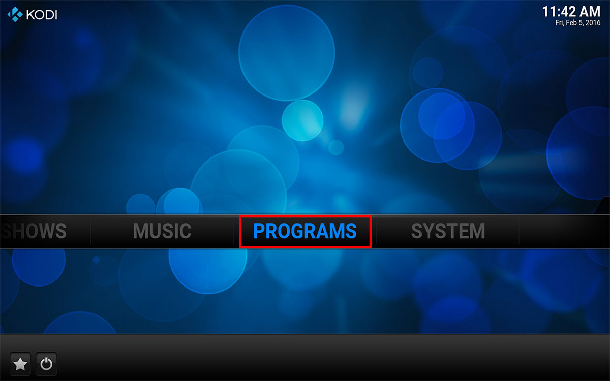 How To Install an Updated Pro Sports addon in Kodi, Step 1