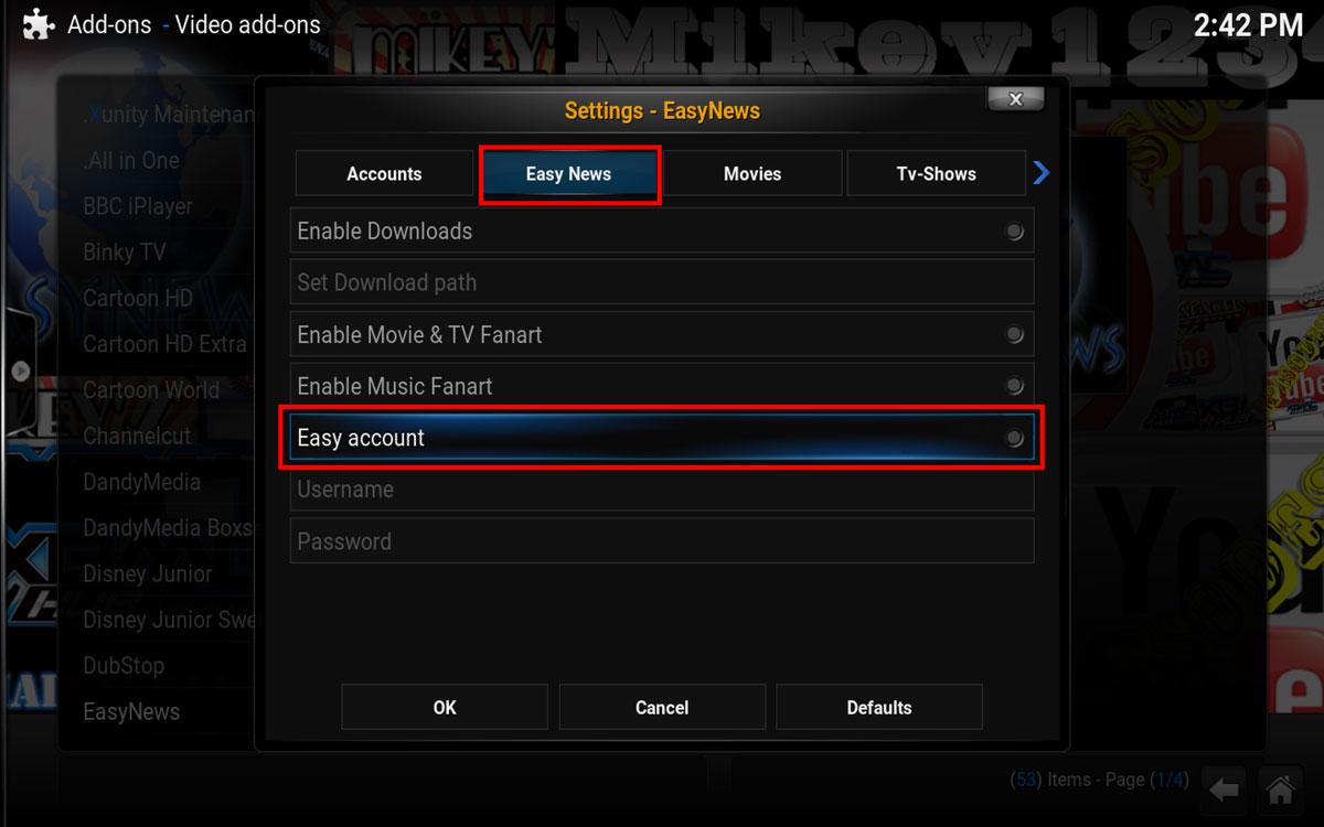 Easynews Step 10