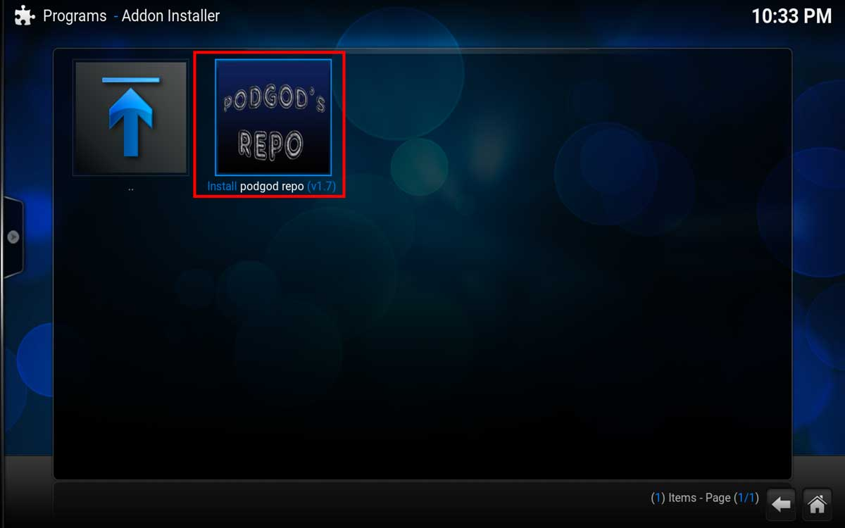 Install Pro Sport Update, Step 6