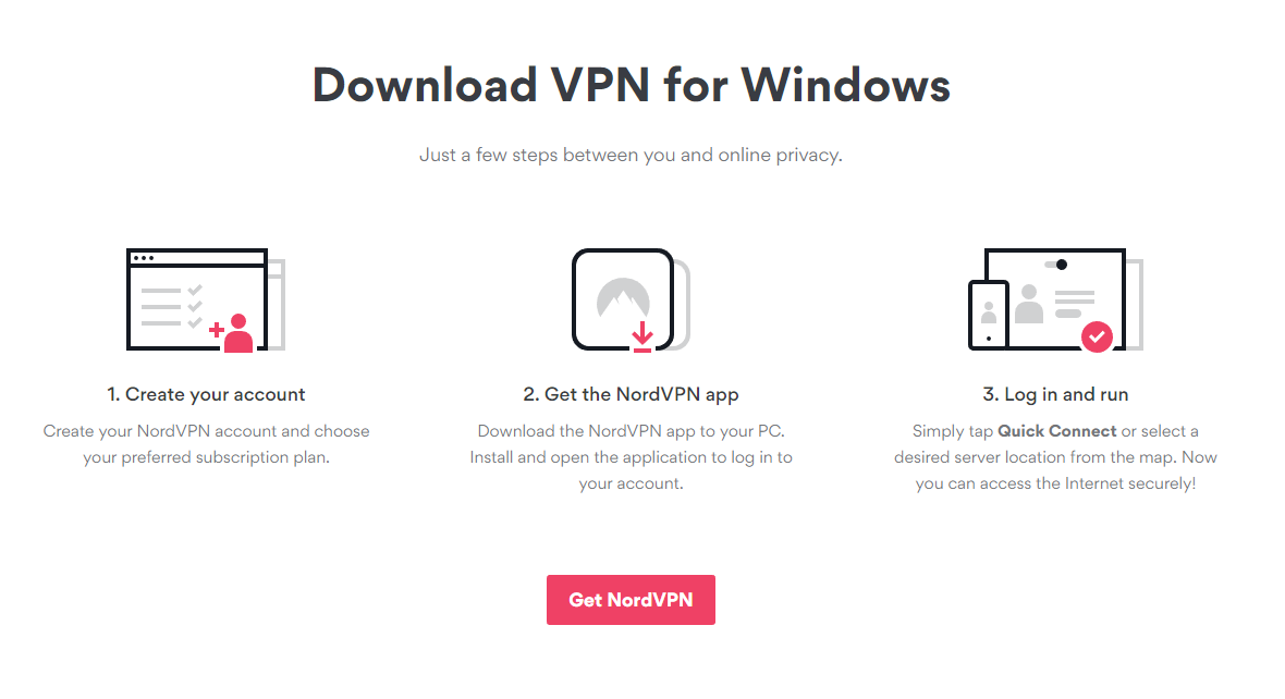 nordvpn download windows