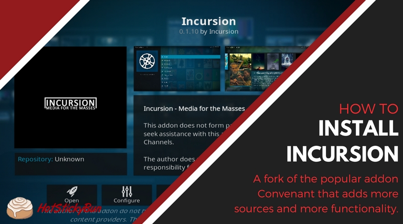 How To Install Incursion in Kodi
