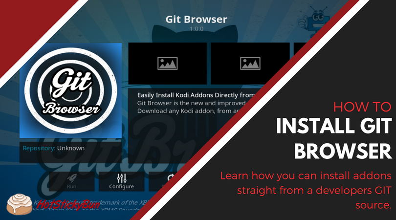 How To Install The Kodi Git Browser